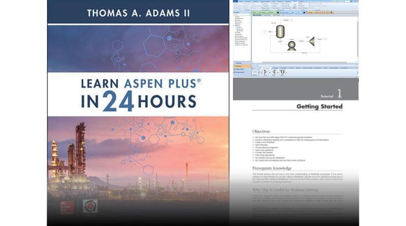 New Book: Learn Aspen Plus in 24 Hours